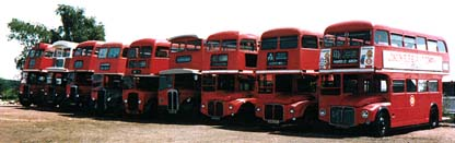 london double decker buses